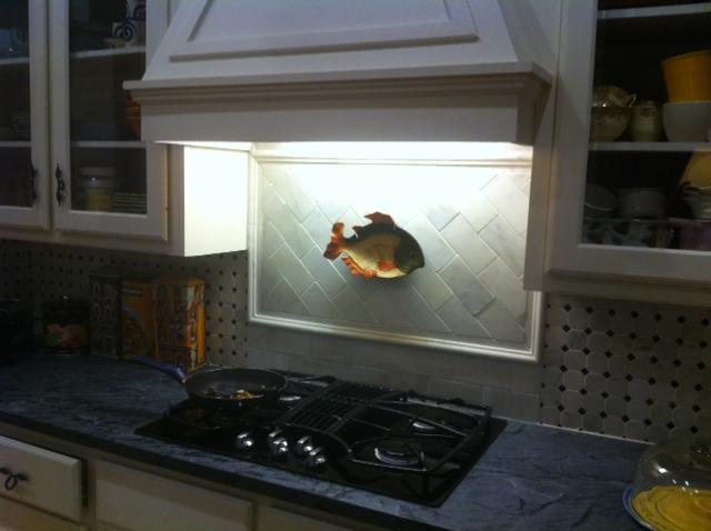 Fish cooktop
