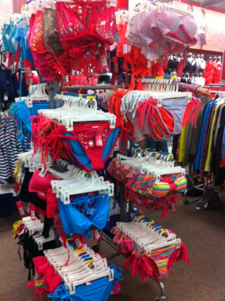 Bathing suits target